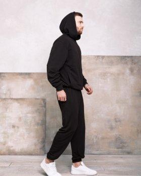Спортивний костюм ISSA PLUS GN-418 Чорний
