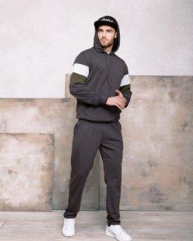 Спортивний костюм ISSA PLUS GN-415 Темно-сірий
