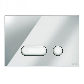 Кнопка слива INTERA глянец хром Cersanit (000019654)