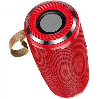 Колонка Hoco BS38 Bluetooth 5.0 FM IPX5 Red