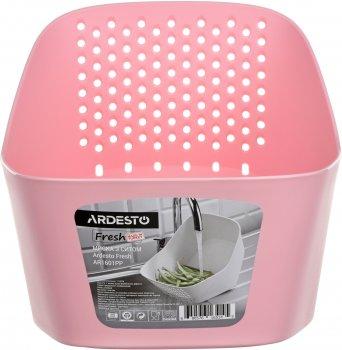 Сито Ardesto Fresh 27х27х32 см Рожеве (AR1601PP)