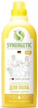Средство для мытья полов Synergetic Полевые цветы 750 мл (4607971450153)