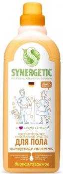 Средство для мытья полов Synergetic Цитрусовая свежесть 750 мл (4607971450191)