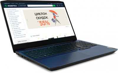 Ноутбук Lenovo IdeaPad Gaming 3 15ARH05 (82EY00G4RA) Chameleon Blue
