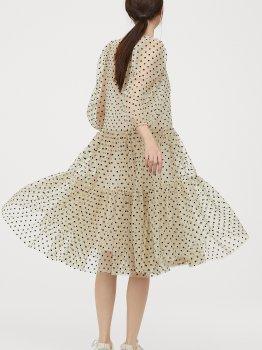 Плаття H&M 0853932-0 Молочне