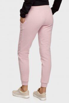 Жіночі рожеві спортивні штани Oodji 16700030-25B/19014N/4B00N