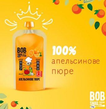 Пюре Апельсина без цукру 400 грам Snail Bob