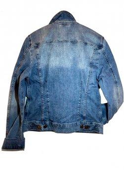 Куртка джинсова чоловіча Mustang Блакитний
