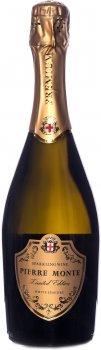 Ігристе вино Pierre Monte біле напівсолодке 0.75 л 10.5-13.5% (4841676002198)