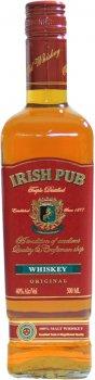 Виски Irish Pub 3-х летний 0.5 л 40% (4840557003118)