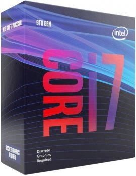 Процесор Intel Core i7-9700F 3.0 GHz/8GT/s/12MB (BX80684I79700F) s1151 BOX