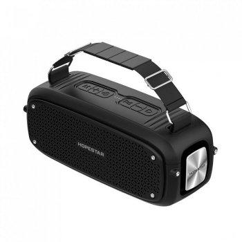 Портативна Bluetooth колонка Hopestar A21 ФМ, MP3, USB Чорний 48036