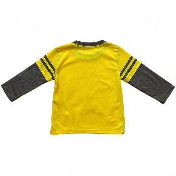 """Лонгслив """"Черепашки Ниндзя"""" Baby Bear для мальчика Желтый 6785"""