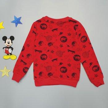 Утепленный свитшот Hacali kids для мальчика Красный 18649
