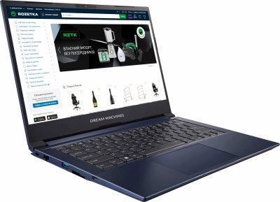 Ноутбук Dream Machines G1650-14 (G1650-14UA30) Navy Blue