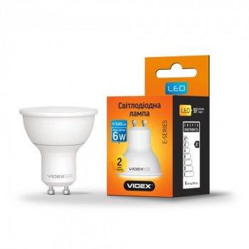 Лампа LED MR16e 6W GU10 4100K 220V, 24963, Videx