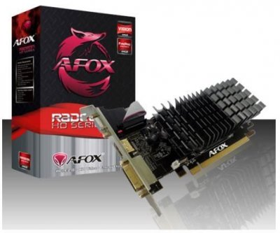 AFOX Radeon HD 6450 2GB DDR3 64 Bit DVI-HDMI-VGA Low profile