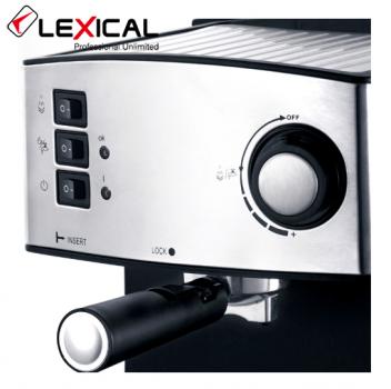 Кофемашина полуавтомат, капучинатор Lexical LEM-0602 850W (LO024)