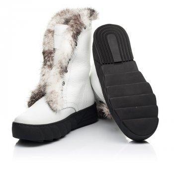 Зимові чоботи на хутрі Woopy 39 білий 7251a