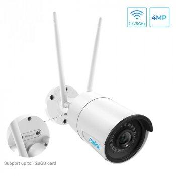 WiFi камера видеонаблюдения Reolink RLC-410W (4Mp, IP, уличная)