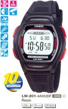 Годинник CASIO LW-201-4AVDF