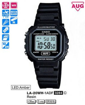 Годинник CASIO LA-20WH-1AEF