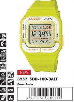 Годинник CASIO SDB-100-3AEF