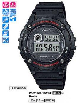 Годинник CASIO W-216H-1AVEF