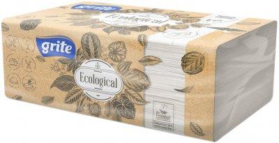 Упаковка паперових рушників Grite Ecological FT V двошарових 4 пачки по 150 аркушів 250х230 мм (4770023350203)