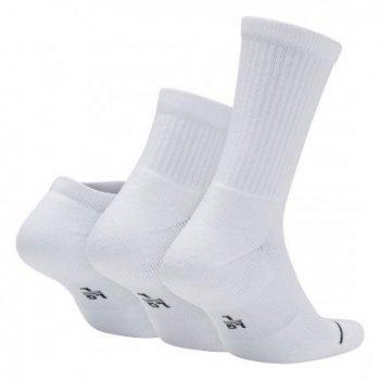Баскетбольні шкарпетки (3 пари) Air Jordan Waterfall 3PPK (SX6274-100) Білий