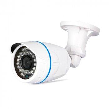1.3MP камера цилиндрическая корпус металл AHD/HDCVI/HDTVI/Analog, AHD200 PiPo (объектив 3.6мм/ИК подсветка 20м) 6024HD-XM-B