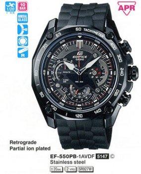 Годинник CASIO EF-550PB-1AVDF