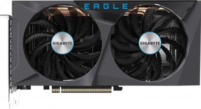Gigabyte PCI-Ex GeForce RTX 3060 Eagle 12G 12GB GDDR6 (192bit) (15000) (2 х HDMI, 2 x DisplayPort) (GV-N3060EAGLE-12GD + P650B)