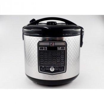 Мультиварка пароварка фритюрница Promotec 5 литров медленноварка 860 Вт лучшая домашняя мощная помощница на кухне PM526S