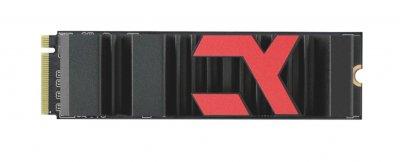 Накопичувач SSD 500GB GOODRAM Iridium Ultimate X M. 2 2280 PCIe NVMe 4.0 x4 3D TLC (IRX-SSDPR-P44X-500-80)