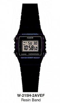 Годинник CASIO W-215H-2AVEF