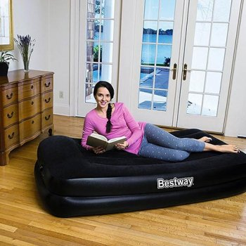 Надувне ліжко Bestway 67401, вбудований насос