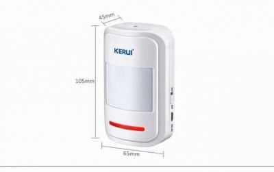 Комплект беспроводной gsm сигнализации с WiFi камерой 2 Mp видеоняня Kerui G18