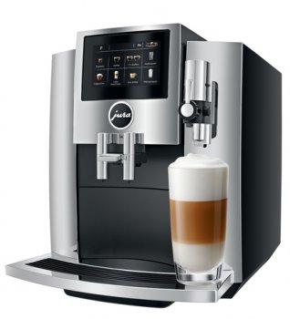 Кофеварка Jura S8 (EA) Chrome (15380)