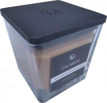 Ароматична свічка Calmain 220 г Чорний і білий шоколад (kI6187)