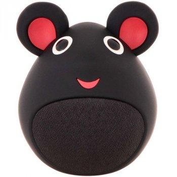 Bluetooth колонка для дітей Мишка, чорна, iCutes (MB-M919)