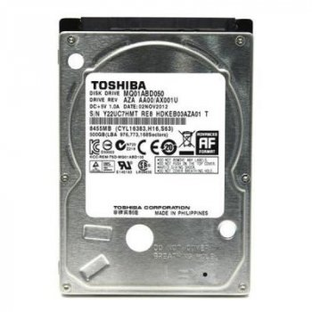 """Жорсткий диск для ноутбука 2.5"""" 500GB TOSHIBA (# MQ01ABD050 #)"""
