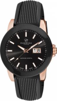 Годинник CHRISTINA 519RBL-SIL-Carbon