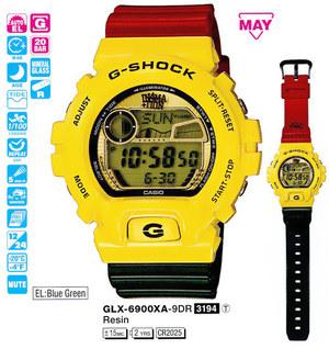 Годинник CASIO GLX-6900XA-9ER