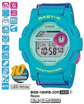 Годинник CASIO BGD-180FB-2ER