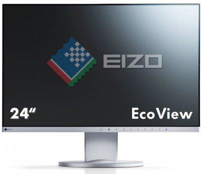 """МонІтор Eizo 23,8"""" FlexScan EV2450-WT Biały"""