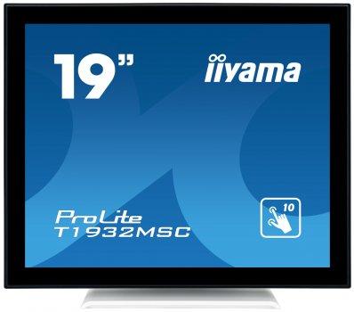 "МонІтор iiyama 19"" ProLite T1932MSC-W5AG Biały"