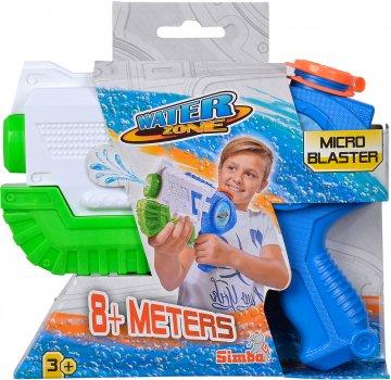 Водный бластер Simba Toys Микро с помпой 21 см объем 400 мл Синий (7276050) (4006592063405)