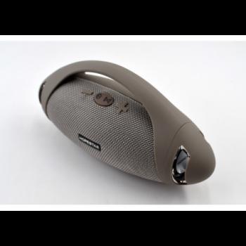 Портативна блютуз колонка Speaker Hopestar H37 WS Original Сіра 10 ВТ бездротова з флешкою радіо і хорошим стерео звуком вологозахист + стереопара (47366 I)
