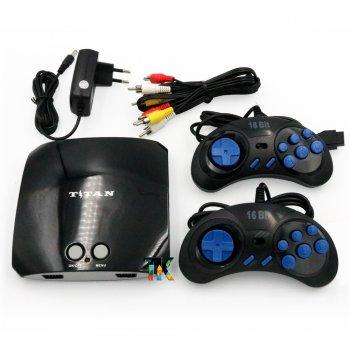 Игровая приставка Titan 3 / 500 встроенных игр Dendy + Sega / поддержка карт памяти SD
